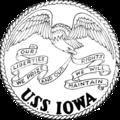USS Iowa (BB-61) insignia, 1945.png