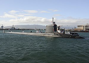 USS Mississippi (SSN-782) arrives at Pearl Harbor in November 2014.JPG