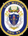 USS Mustin DDG-89 Crest.png