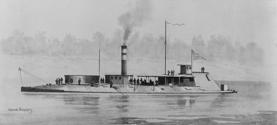 USS Neosho (1863-1873) - NH 60617