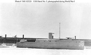 USS <i>Patrol No. 5</i> (SP-29)
