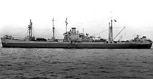 USS Sculptor (AK-103) - Image: USS Sculptor (AK 103)