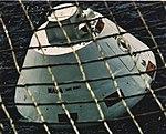 USS Ticonderoga (CVS-14) recovers a dummy Apollo command module, in December 1972.jpg