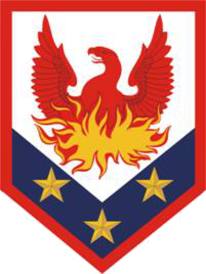 110th Maneuver Enhancement Brigade - shoulder sleeve insignia