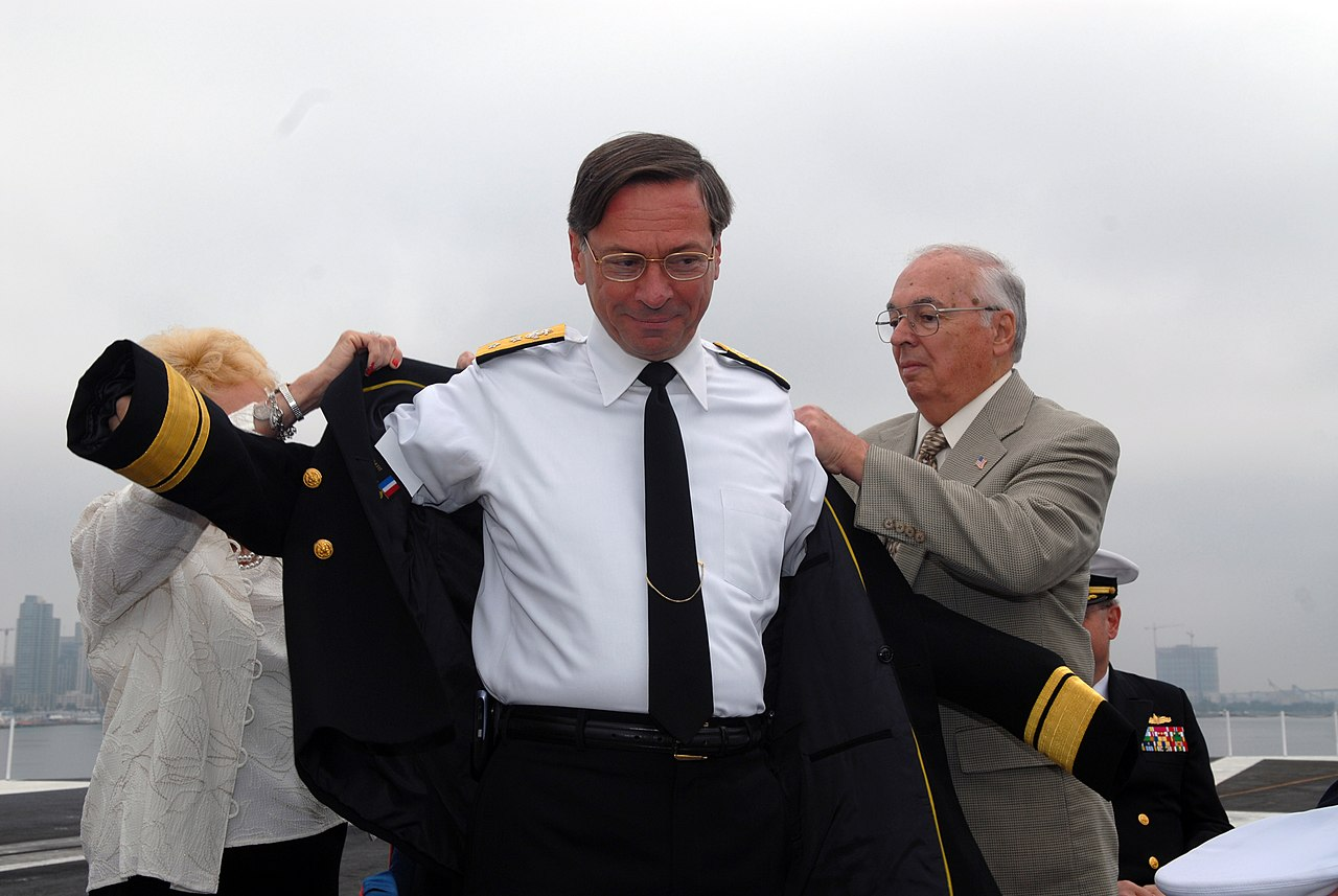 Long dress jacket us navy