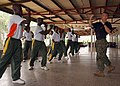 US Navy 080208-N-0577G-092 Staff Sgt. William Sudbrock of Vero Beach, Fla., a Marine assigned to Africa Partnership Station (APS), begins the first day of martial-arts instruction for the 2nd Infantry Battalion of the Ghanaian.jpg
