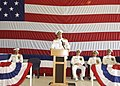 US Navy 080712-N-1522S-011 Chief of Naval Operations, Adm. Gary Roughead speaks at the reestablishment ceremony of the U.S. 4th Fleet on board Naval Station Mayport.jpg