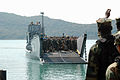 US Navy 090207-N-6692A-040 Landing Craft Utility (LCU) 1631 from Assault Craft (ACU) Unit 1 arrives in Sattahip, Thailand from the forward-deployed amphibious dock landing ship USS Tortuga (LSD 46) to offload Marines from the 3.jpg