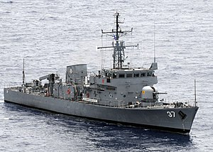 BRP Artemio Ricarte (PS-37) - BRP Artemio Ricarte at RP-US Baliktan Exercises, April 2009