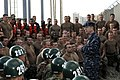 US Navy 100304-N-7303M-014 Adm. Mike Mullen, chairman of the Joint Chiefs of Staff, speaks to Basic Underwater Demolition-SEAL candidates at Naval Special Warfare Center in San Diego.jpg