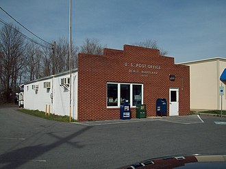 Deale, Maryland - The U.S. Post Office in Deale, Maryland, in March 2010