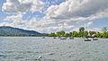 Uetliberg - Zürichsee in Zürich - Strandbad Tiefenbrunnen - Zürichhorn - Tiefenbrunnen 2015-05-06 15-38-04.JPG