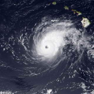 Hurricane Uleki Category 3 Pacific hurricane in 1988