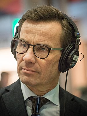 Swedish general election, 2018 - Image: Ulf Kristersson 2017 cropped