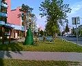 Ulica Józefa Piłsudskiego w Bychawie - panoramio.jpg