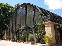 Umbracle del Jardí Botànic de València zinc.JPG
