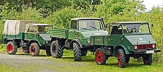 Unimog - Unimog 401, 406 and 411