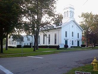 Union Presbyterian Church (Scottsville, New York) - Image: Union Presbyterian Church 2012 09 20 17 53 14