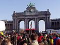 United Belgium Brussels demonstration 20071118 DMisson 00101 parc Cinquantenaire.jpg