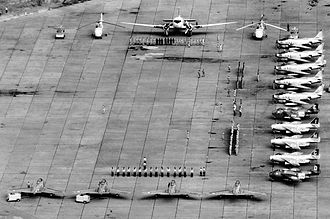 United Nations Operation in the Congo - United Nations peacekeeping forces of Iran, Philippines and Sweden in Kamina Air Base, January 1963