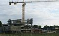 Université Rennes 2 - Bâtiment Sciences humaines - construction 2009 septembre.JPG