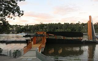 University of Queensland ferry wharf