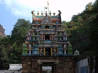 Ahobilam village/holy site in Andhra Pradesh, India