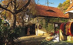 Saxony (wine region) - A winery in Saxony.