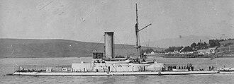 USS Monterey (BM-6) - The USS Monterey at Mare Island Navy Yard.