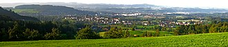 Uzwil - Image: Uzwil panorama