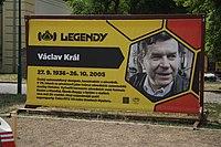 Václav Král poster at Legendy 2018 in Prague.jpg