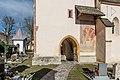Völkermarkt St. Margarethen ob Töllerberg 2 Pfarrkirche hl. Margaretha Turmvorhalle 03012019 5829.jpg