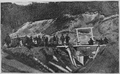 V.M. Doroshevich-Sakhalin. Part I. Prisoners Works. Group of Prisoners at the Entrance into Mines.png