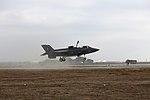 VMFA-121 conducts a vertical landing at Red Beach 151210-M-BG453-056.jpg