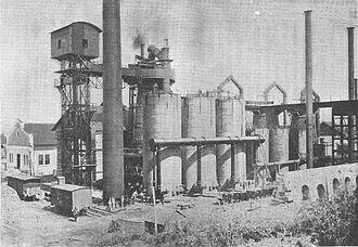 Hunedoara steel works - Image: Vajdahunyad 1896a