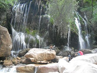 Tourism in Bolivia - Waterfall in the Torotoro National Park