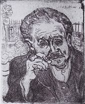 portrait of dr gachet essay The portrait of dr gachet stirred controversy for the high price it was bought and the mystery of its vanishing it was auction in 1990 with a bidding that started with $20 million and sealed with $ 825 million.