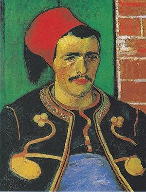 The Zouave - Image: Van Gogh Der Zuave (Halbfigur)