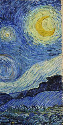 Notte stellata wikipedia for Dipinto di van gogh notte stellata