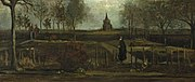 The Parsonage Garden at Nuenen by Vincent van Gogh