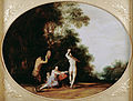 Van Poelenburgh, Cornelis - Nymphs and Satyr - Google Art Project.jpg