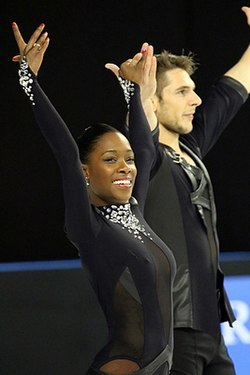 Vanessa James and Morgan Ciprès 2015.jpg