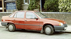 Vauxhall Belmont outside a church in Cambridge.jpg