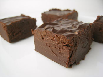 Vegan Chocolate Fudge.