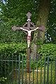 Veldkruis, Kloosterstraat (in de scherpe bocht) Helden.jpg