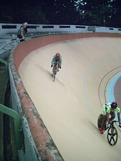 Sprint (track cycling) event in track cycling