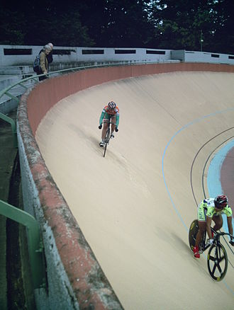 Sprint (track cycling) - During a sprint
