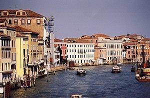Velký kanál v Benátkách