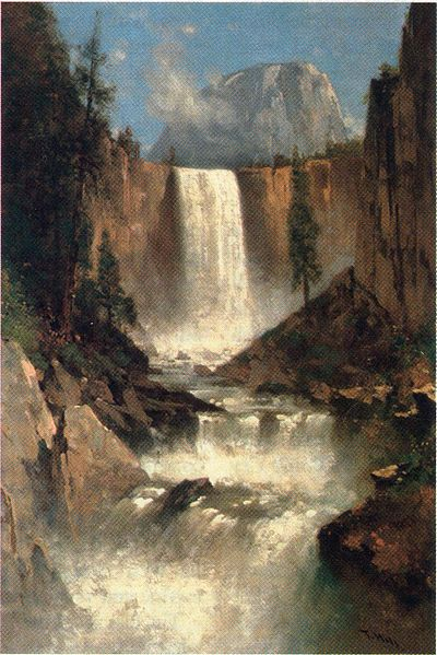 File:Vernal Falls, Yosemite, by Thomas Hill, 1889.jpg