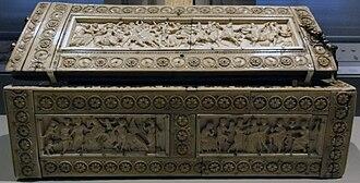 Veroli Casket - Image: Veroli casket front